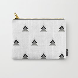 Arrows Collages Monochrome Pattern Carry-All Pouch