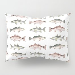 Pattern: Inshore Slam ~ Redfish, Snook, Trout by Amber Marine ~ (Copyright 2013) Pillow Sham