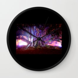 Tree Illuminated Wall Clock