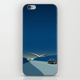 "Soviet Modernism: ""Seagull"" road mark at the northern entry of Yerevan iPhone Skin"