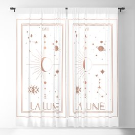 La Lune or The Moon White Edition Blackout Curtain