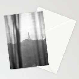 Chapel on a hill. Stationery Cards