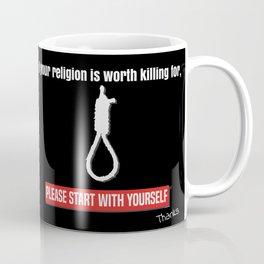 Religious extremism Dark Coffee Mug