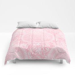 Medallion Pattern in Blush Pink Comforters