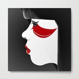 Modern Geisha Metal Print