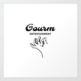 Gourm Art Print