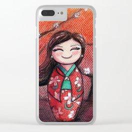 Kokeshi Selene Clear iPhone Case