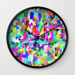 Colorful-46 Wall Clock
