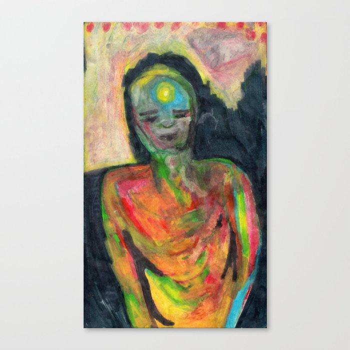 Spirit/Figure Canvas Print