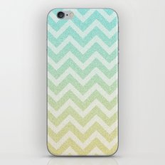 Chevron Rain iPhone Skin