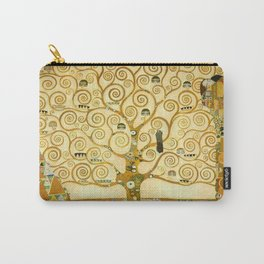 "Gustav Klimt ""Tree of life"" Carry-All Pouch"