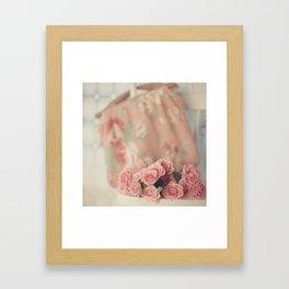 Yesterday's Roses Framed Art Print