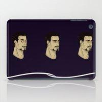 stark iPad Cases featuring Purple Stark by Sky's