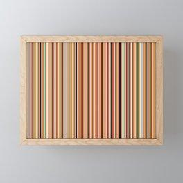 Old Skool Stripes - Morning Framed Mini Art Print