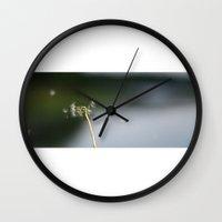 clockwork Wall Clocks featuring Clockwork. by Mike Seddon