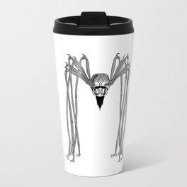 spider . black and white . art Travel Mug