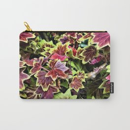 Painted Geraniums Carry-All Pouch