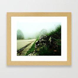 The Bystander Framed Art Print