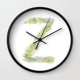 Initial Z Wall Clock