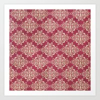 damask Art Prints featuring Damask by Arcturus