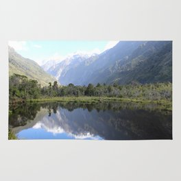 Franz Josef lake Rug