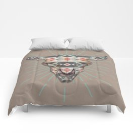 Cow Skull Induco Comforters