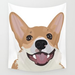 Corgi design Wall Tapestry