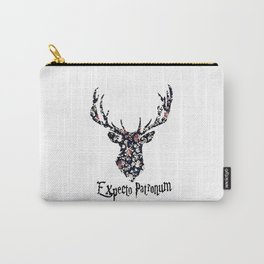 expecto patronum floral Carry-All Pouch