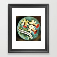 Tin Framed Art Print