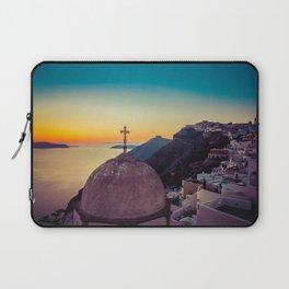 Adorable Santorini Laptop Sleeve