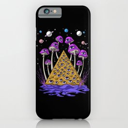 Psychedelic Egyptian Pyramid iPhone Case