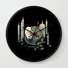 The Witch's Brew Wall Clock