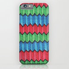 Pattern Doodle Four Slim Case iPhone 6s