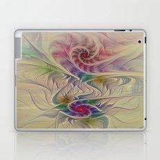 Rainbow Spirals Laptop & iPad Skin