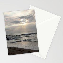 maui sunset Stationery Cards