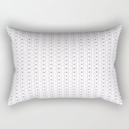 Orchid/Navy Stripe Rectangular Pillow
