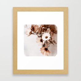 Flowers Art Poster Framed Art Print