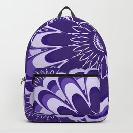 Purple Mandala Bloom Backpack