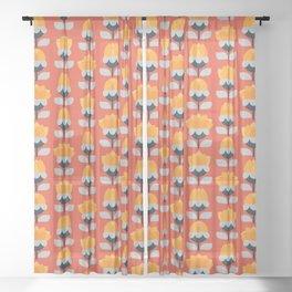 Öppen Sheer Curtain