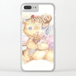 Sweet Sundae Clear iPhone Case