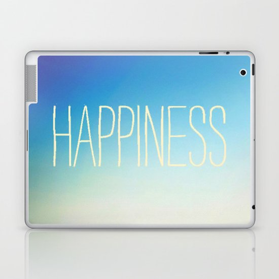 beachy happiness Laptop & iPad Skin