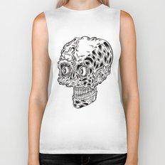 Funny skull Biker Tank