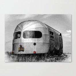 Airstream B&W Canvas Print