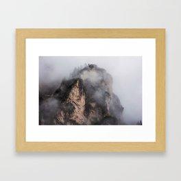 Dolomites in Color Framed Art Print