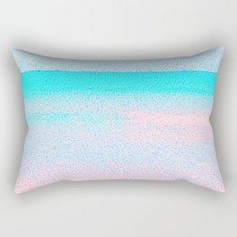 Blissful Beach - Sandy Pink Rectangular Pillow