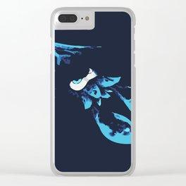 Blue Kraken Clear iPhone Case