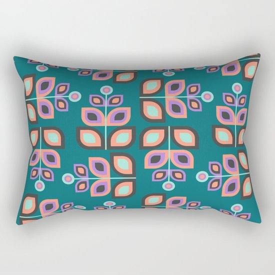 May Flowers Rectangular Pillow