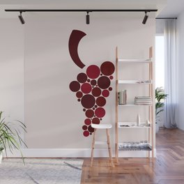 Wine Grape Wall Mural