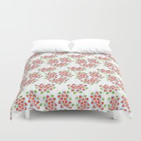 hawaii Duvet Covers featuring Hawaii by K I R A   S E I L E R