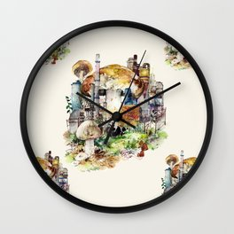 Surrealism by yeng lin Wall Clock
